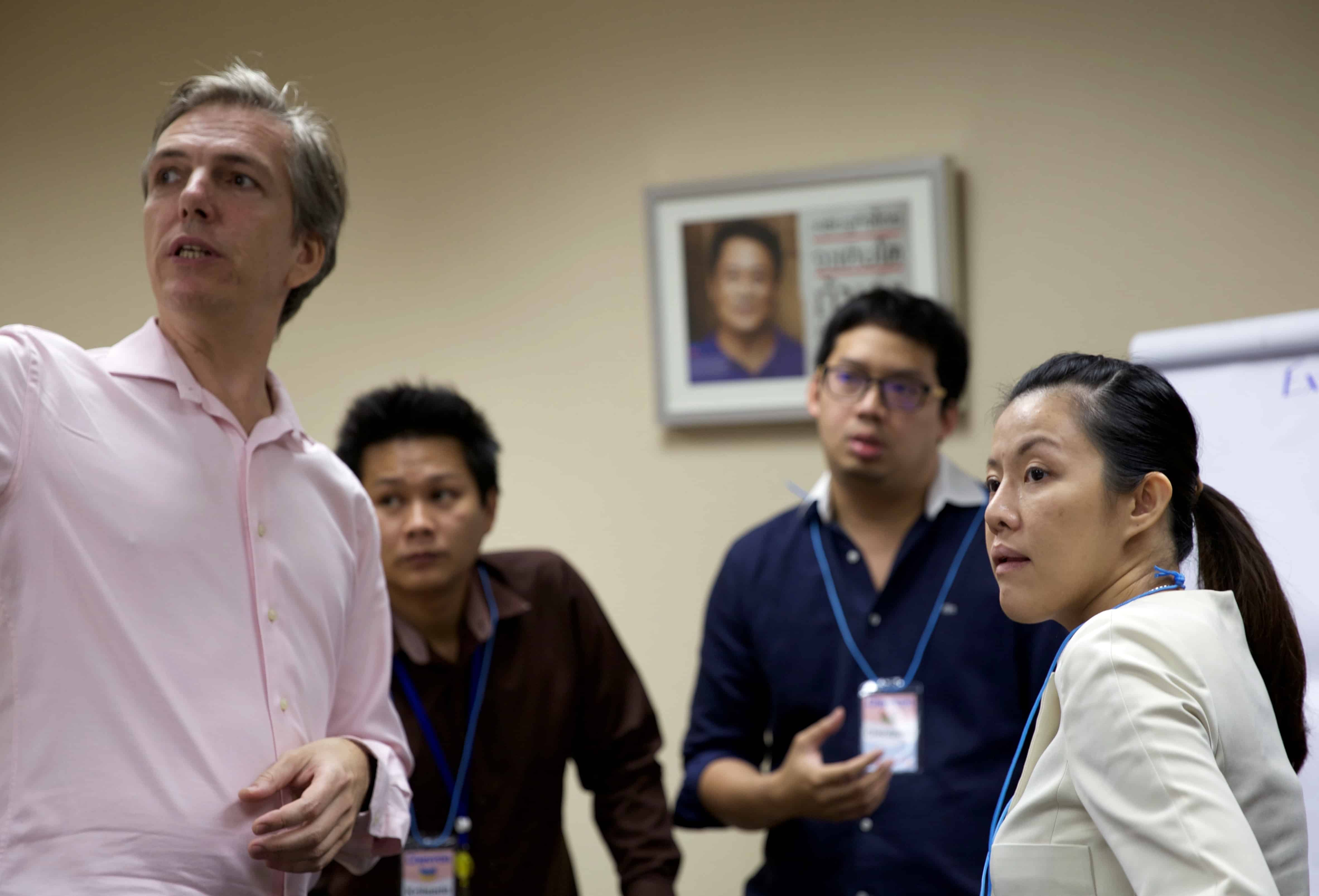 change management chevron bangkok training