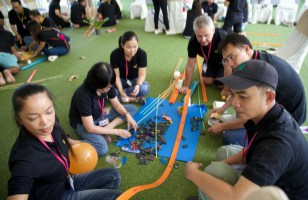 chain reaction team building bangkok thailand