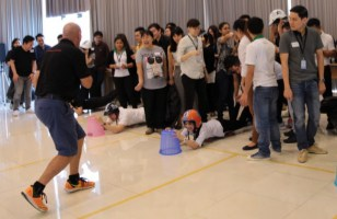 indoor olympic team building bangkok thailand