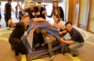 tent team building bangkok thailand